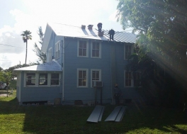 Metal Roofing installation in Tequesta