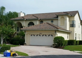 New concrete tile roof in Tequesta