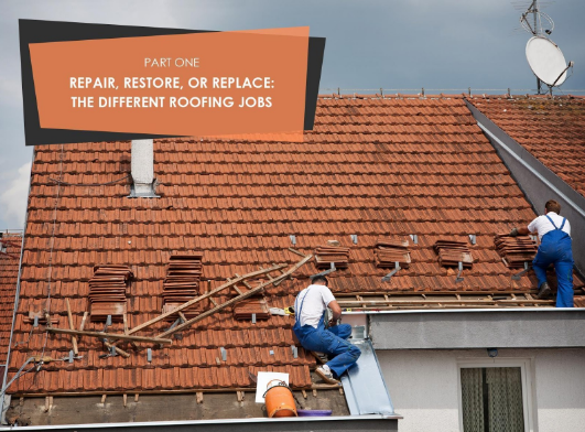 Different Roofing Jobs